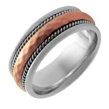 mens two tone wedding bands two tone men s wedding bands groom wedding rings shop the best