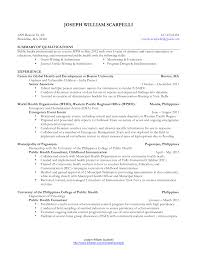 Resume Evaluation Mph Resume Free Resume Example And Writing Download