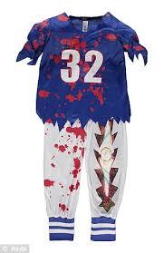 Halloween Football Costumes Asda Fire Gory Halloween Costumes Children Daily