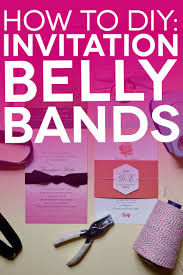 Diy Invitations Free Printable Belly Bands And Tags For Your Diy Invitations A