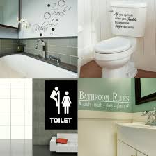 68 Best Wall Silhouettes Images by Bathroom Wall Quotes Toilet U0026 Bath Wall Art Transfer Self