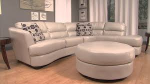 Leather Sectional Sofa With Ottoman by Htl Nouveau2 Mov Youtube