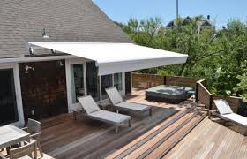 Side Awnings For Patios Retractable Awnings Pittsburgh Pa Deck King Usa