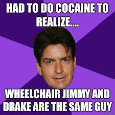 Drake Wheelchair Meme - wheelchair drake meme