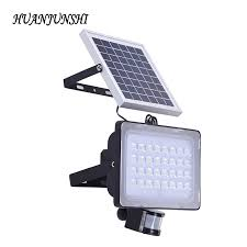 high lumen solar spot lights 20pcs 50w led solar flood light motion sensor 128 leds security
