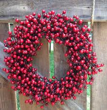 berry wreath 22 festive berry wreath flora decor
