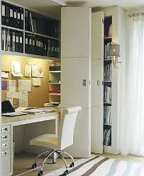 Closet Office Desk Closet Office Transitional Den Library Office