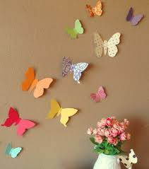 wall designs paper wall beautiful bold butterflies