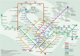 Mtr Map Mtr Station Map Mtr Station Map Singapore Republic Of Singapore