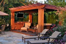 Pergola Outdoor Kitchen Outdoor Kitchens Clc Landscape Design