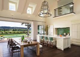 fresh and modern wine country home with indoor outdoor living