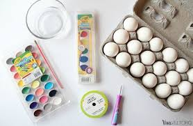 blown easter eggs how to color easter eggs with beautiful watercolors viva veltoro