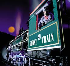 ghost train halloween festival at tweetsie blowing rock north