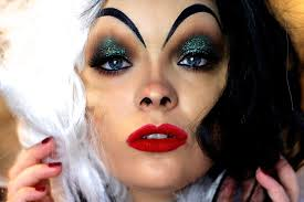 cruella deville costume spirit halloween cruella de vil makeup tutorial youtube