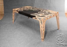 artistic wooden table design home interior design ideas