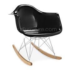 eames rocking chair fibreglass