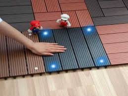 anti slip surface composite decking material youtube