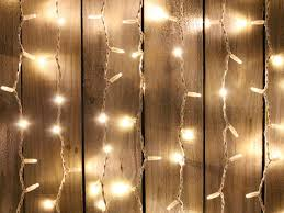 curtain fairy lights 2m x 2m white cable