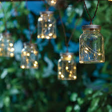 mason jar outdoor lights mainstays solar mason jar outdoor string light walmart com