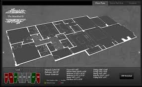 floor plan website fitzgerald website design and development interactive