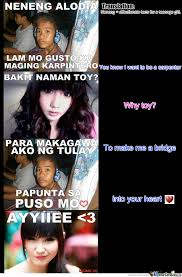 Totoy Brown Memes - totoy brown s message to alodia gosiengfiao translated by simon