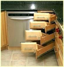 kitchen corner cabinet storage ideas blind corner cabinet solutions coffee cabinet storage ideas awesome
