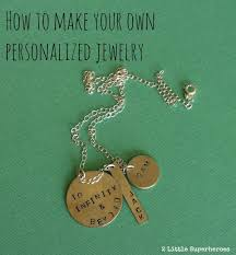 Personalized Stamped Necklace Hosting A Hand Stamped Jewelry Craft Night 2 Little Supeheroes2