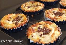 de cuisine hanane tartelettes faciles aux poires et chocolat recettes by hanane