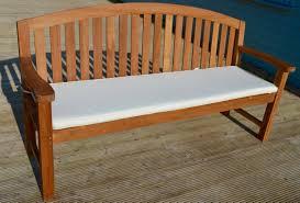 sale sunbrella 60in backless bench cushion oceanic teak furniture