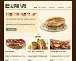 restaurant templates free 28 images bootstrap food restaurant