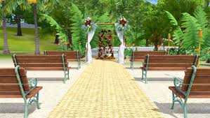 wedding arches in sims 3 endless tales the sims 3 sunlit tides