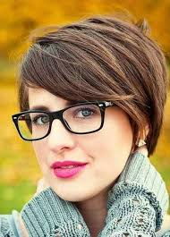 Kurzhaarfrisuren F Junge Frauen by Die Besten 25 Kurzhaarfrisuren 2016 Mit Brille Ideen Auf