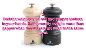 how to identify salt u0026 pepper shakers youtube