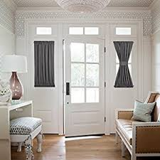 Blackout Patio Door Curtains Nicetown Thermal Insulated Blackout Door
