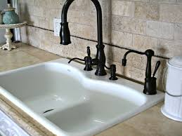 Black Kitchen Faucet With Sprayer Kitchen Sink Faucets Home Depot Tags Kitchen Sinks And Faucets
