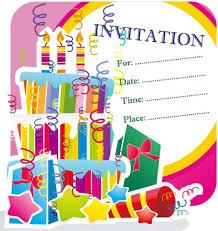 birthday invitation card templates free download new birthday