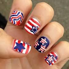 patriotic 4th of july nail arts ideas easy nail art designs