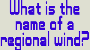 what is the name of a regional wind youtube