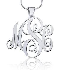 best name necklace monogram necklace script style initials names monograms and