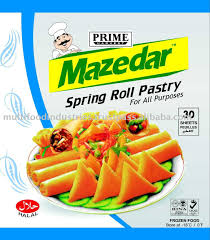 roll sheets frozen roll pastry sheet buy frozen samosa pads product