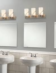 bathroom modern three lamp lowes bathroom lighting for enchanting awesome lowes bathroom lighting with mirrored vanity and freestanding sink vanity for modern bathroom design
