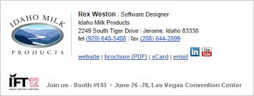 the art of designing and marking up email signatures u2014 sitepoint