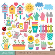 garden decorations clipart clipground