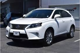 lexus 350 used for sale used 2015 lexus rx 350 for sale in mountain view ca edmunds