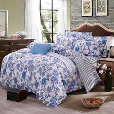 bed sheet quality 4pcs bohemian bedding set soft polyester bed linen duvet cover