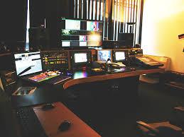 tv studio desk studios nobeo de