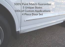 touch up paint for lexus ls430 car door molding set paint color matched door guards