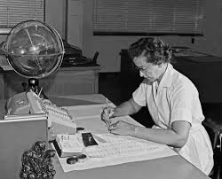 katherine johnson at work 1962 nasa