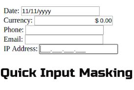 format date javascript jquery quick input masking with jquery inputmask plugin rohit kumar