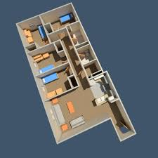 Apartment Layout by The Gables Housing U0026 Residential Life